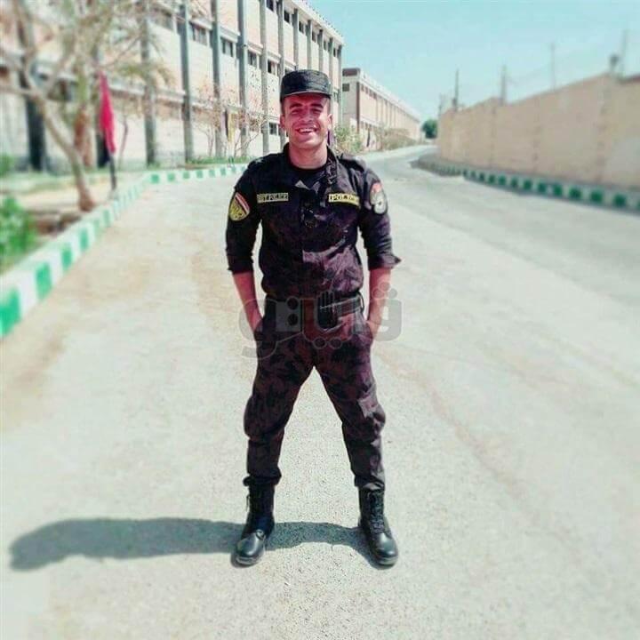 ضابظ شرطة ينتحر بسلاحه الميري في المنوفية ( صور )