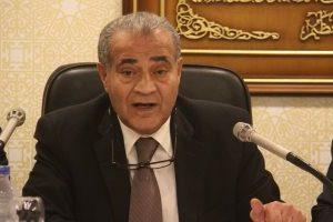 وزير التموين يتابع تنفيذ برنامج الحكومة مع قيادات الوزارة