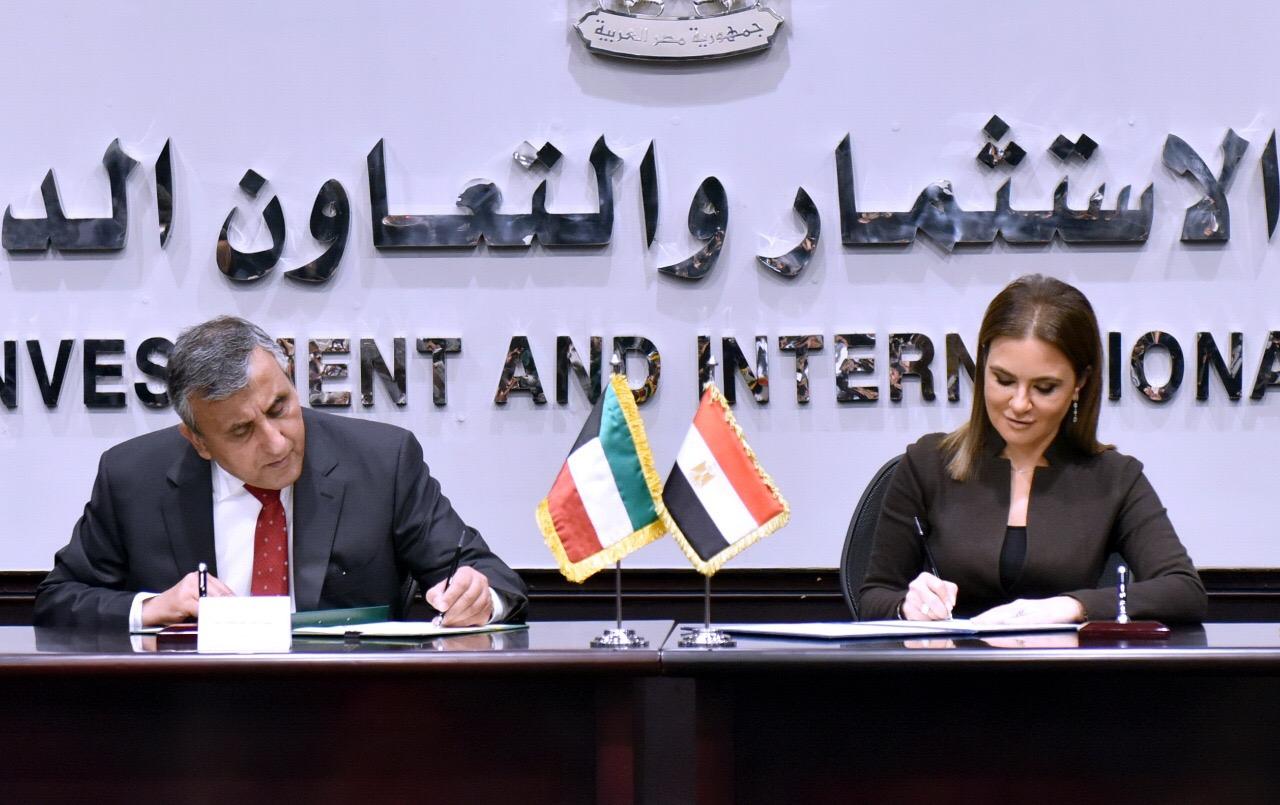 مصر والكويت توقعان 5 اتفاقيات بقيمة 5 مليارات جنيه