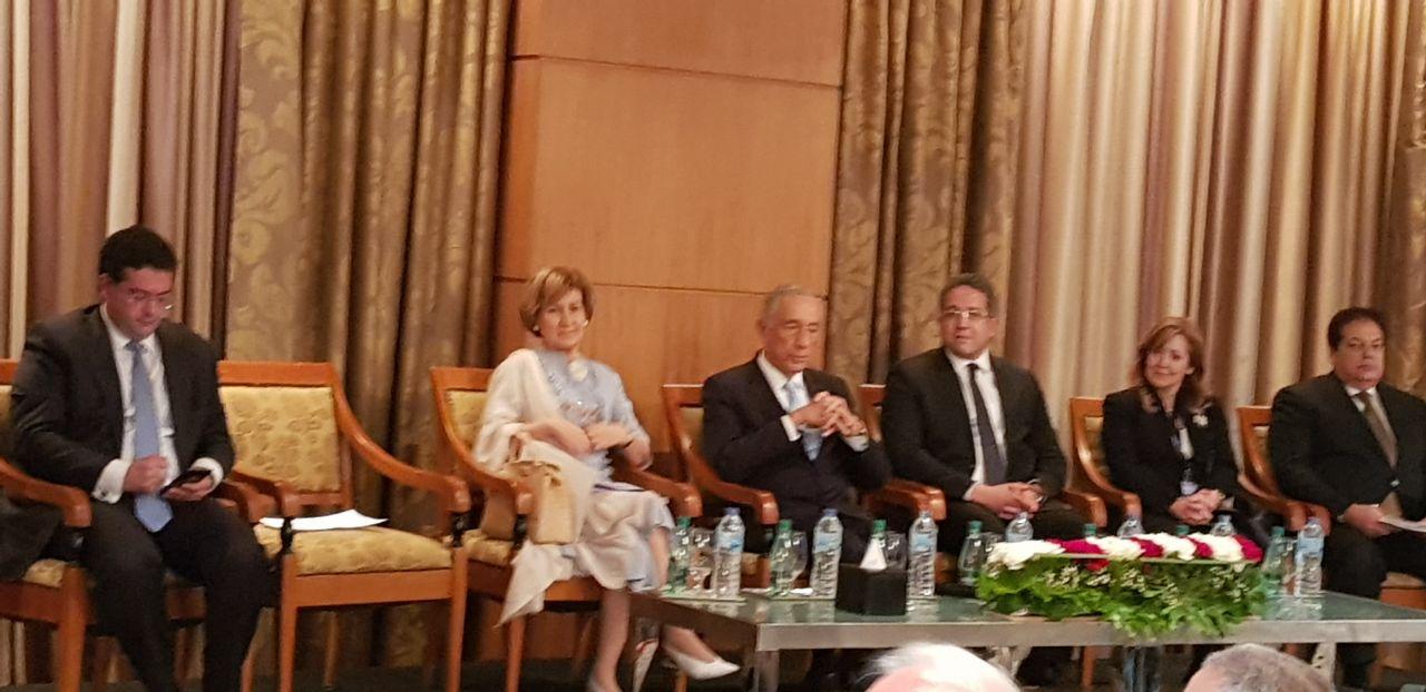 انطلاق فعاليات منتدى الأعمال المصرى البرتغالى بحضور مارسيلوا دى سوسا