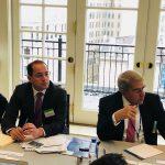 وزير المالية يلتقي بكبار المستثمرين الدوليين ومؤسسات التصنيف الائتمانى