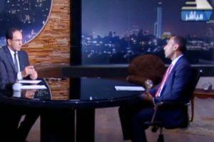 لقاء الصحفى مجدى دربالة مع الاستاذ عاكف المغربى