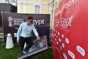 افتتاح جناح مصر فى منطقة التشجيع بروسيا للترويج للفرص الاستثمارية