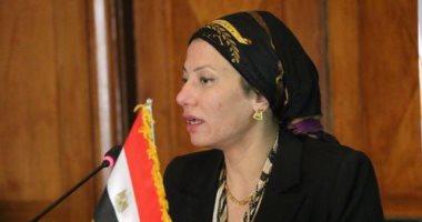 وزيرة البيئة تجتمع بمساعديها لبحث طرق إدارة المخلفات الصلبة في محافظات الجمهورية