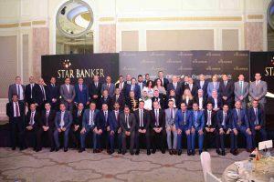 """الرئيس التنفيذى للاتحاد الوطني:  """" نسعى الى ايجاد قادة متميزين بين موظفى البنك"""