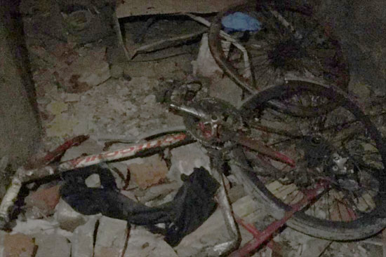 """Photo of الإنتهاء من رفع الأدلة الجنائية بموقع حادث تفجير """"الدرب الأحمر"""""""