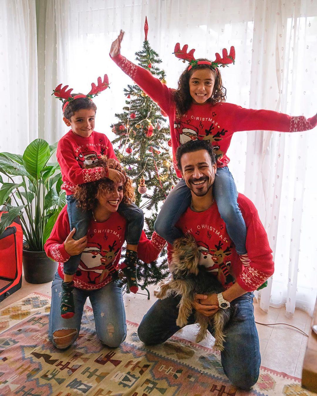 أحمد داوود وعائلتة