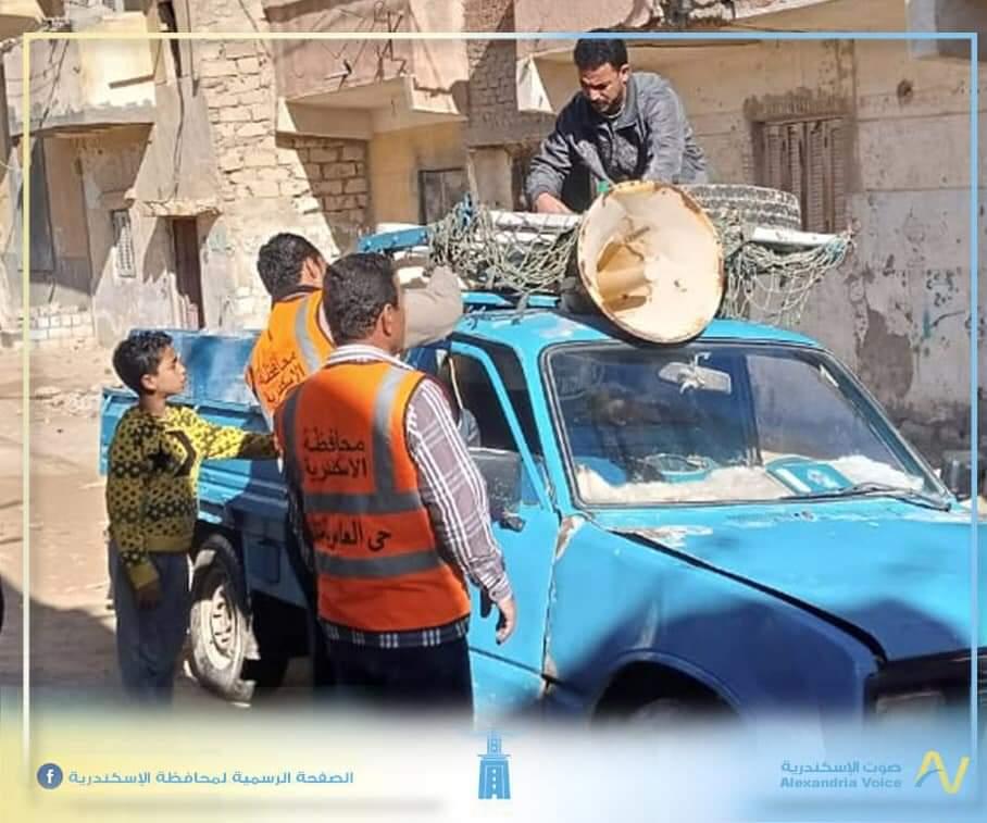 الحملات الأمنية في الإسكندرية