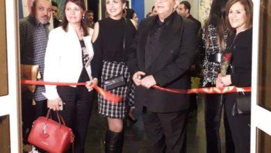 افتتاح معرض ألوان حرة بالهناجر