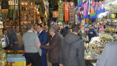 الجولة التفقدية لرئيس الغرف التجارية بمنطقة الحسين