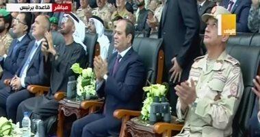 Photo of افتتاح قاعدة «برنيس العسكرية الجديدة» بحضور الرئيس السيسي وولي عهد أبو ظبي