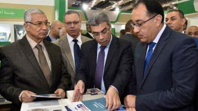 تفقد رئيس الوزراء لجناح مؤسسة أخبار اليوم بمعرض القاهرة الدولي للكتاب