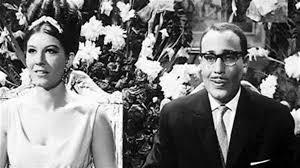 زواج شويكار من فؤاد المهندس- صورة أرشيفية