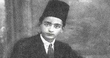 محمود المليجي وهو شاب - صورة أرشيفية