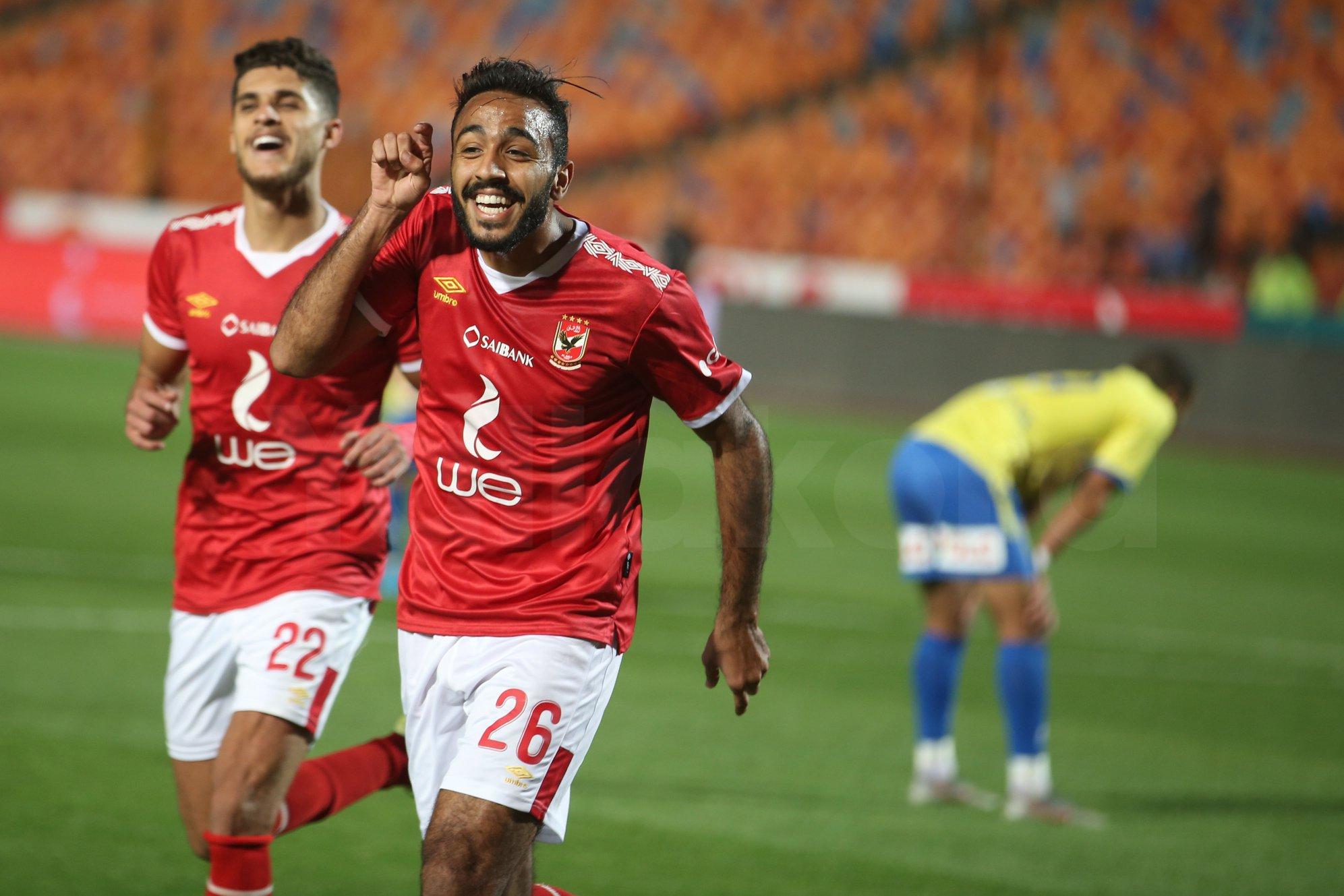 محمود كهربا في مباراة الأمس