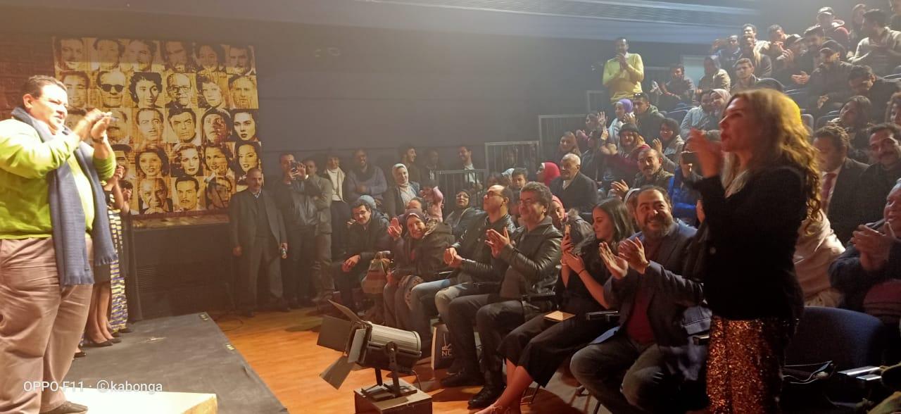جانب من حفل تكريم اسم المخرج سعد عرفة