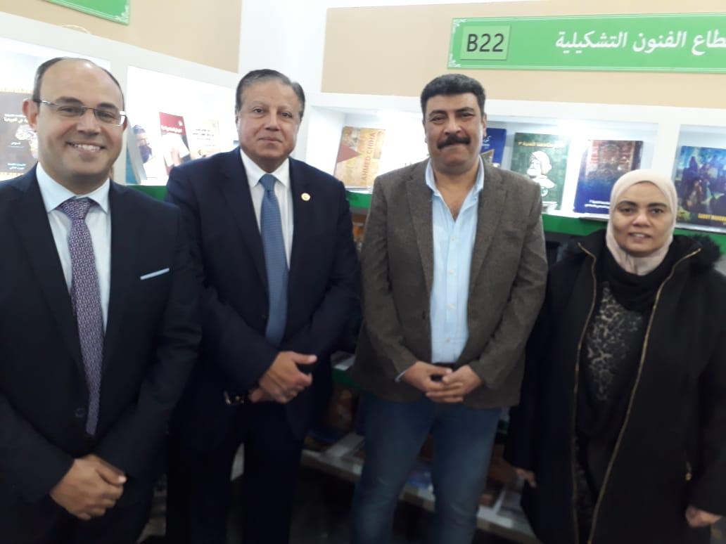 نجاح المجلس الأعلى للثقافة في معرض الكتاب
