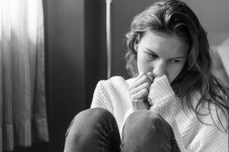 الاكتئاب - صورة أرشيفية