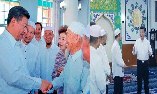 الرئيس الصيني يعتذر للمسلمين