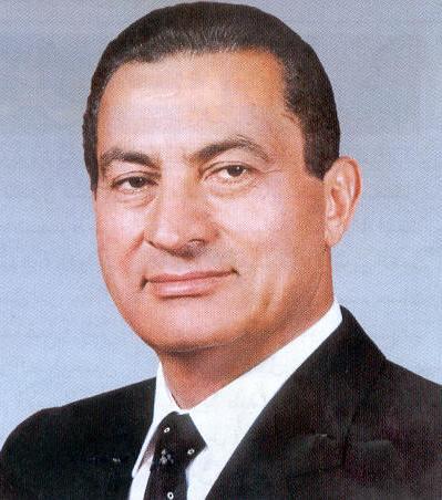 الرئيس الأسبق الراحل حسني مبارك