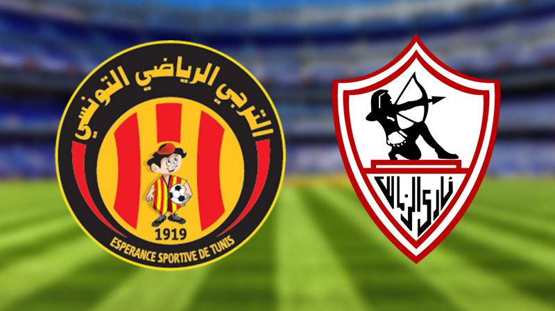نادي الزمالك ضد الترجي التونسي