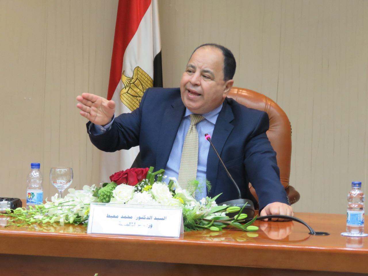 وزير المالية الاقتصاد المصري