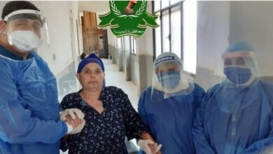 Photo of سيدة تتعافي من كورونا بعد تخطي عمرها الـ 100 عام