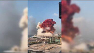 """Photo of 2700 طن من """"نترات الأمونيا"""" تسببت في انفجار بيروت"""