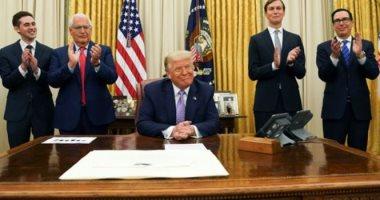 Photo of برعاية أميركية.. اتفاق سلام تاريخي بين الإمارات وإسرائيل