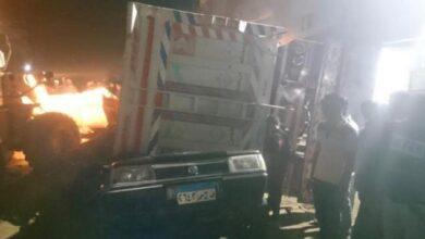 Photo of مصرع 5 أشخاص في حادث إنقلاب سيارة في الفيوم