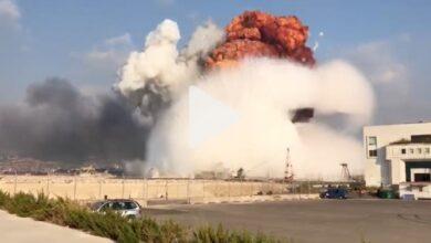 Photo of وفاة مواطن مصري إثر الانفجار الضخم في لبنان