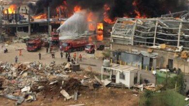 Photo of شاهد بالفيديو.. انفجار جديد يهز مرفأ بيروت وسط لبنان