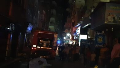 Photo of بالصور.. حريق هائل بشقة بـ «بولاق الدكرور» نتيجة ماس كهربي