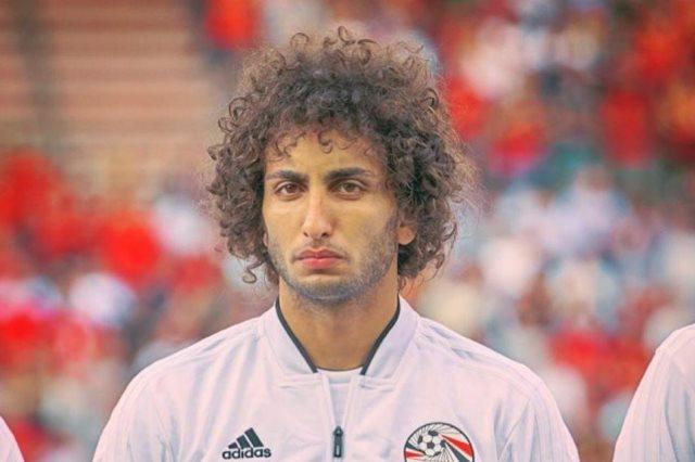 اللاعب عمرو وردة