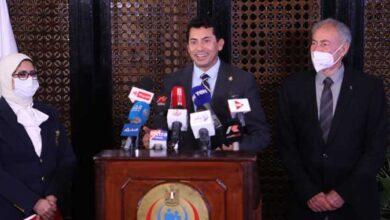 Photo of تفاصيل المؤتمر الصحفي لوزيري «الشباب» و«الصحة»