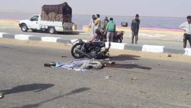 Photo of مصرع شاب في حادث مروع بطريق بحيرة قارون السياحي