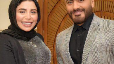 Photo of «هاتولي ماية بسكر».. رد فعل هيستيري من معجبة عند لقائها بتامر حسني