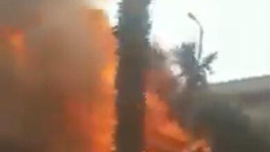 Photo of بالفيديو.. حريق بمبنى أبراج وزارة المالية