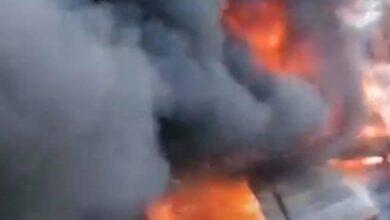 Photo of إندلاع حريق بجوار محطة قطارات الزقازيق