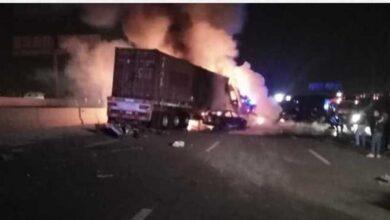 Photo of طرق الموت.. مصرع شخصين وإصابة 6 آخرين نتيجة حادث سير بحلوان