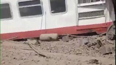 Photo of عاجل.. خروج عربتي قطار عن القضبان بالقليوبية وأنباء عن وقوع قتلى وجرحى