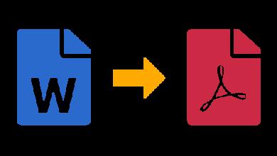 Photo of تحويل ملف وورد إلى pdf اون لاين على الكمبيوتر والأجهزة الذكية