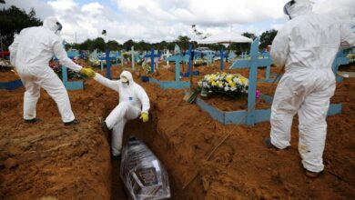 Photo of كورونا خلال 24 ساعة.. 811 إصابة جديدة في مصر ووفيات البرازيل تتخطى نصف مليون