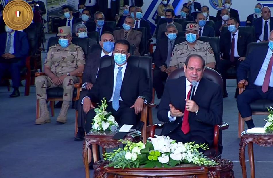رسائل الرئيس السيسي للمصريين