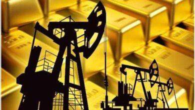 Photo of بضغوط الدولار.. النفط والذهب يتراجعان عالميًا اليوم وسط ترقب لنتائج اجتماع «المركزي الأوروبي»