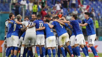 Photo of الليلة.. منتخب إيطاليا يواجه النمسا وويلز يلتقي الدنمارك في دور الـ16 لبطولة يورو 2020