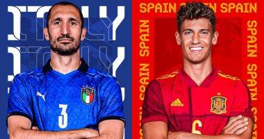 إسبانيا وإيطاليا يورو 2020