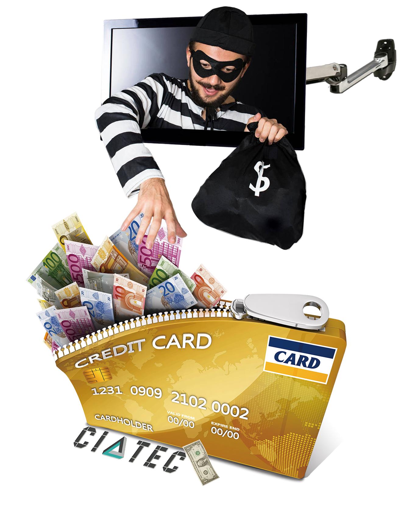 حماية اطاقات الائتمان