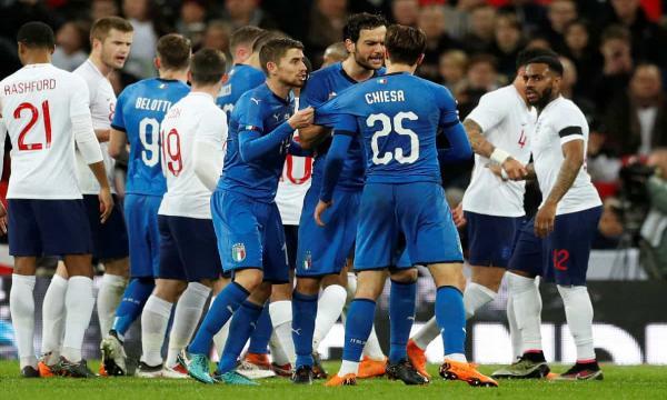 إيطاليا وإنجلترا نهائي اليورو