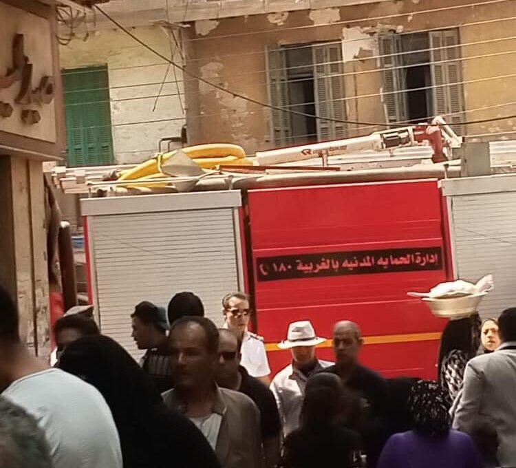 انفجار أسطوانة بوتاجاز طنطا